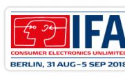 2019年柏林消费电子及家用电器展(IFA)